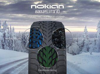 Nokian Hakkapeliitta R3 – Piggfritt vinterdekk i toppklasse
