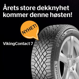 Continental Viking Contact 7 – Nytt dekk fra Continental